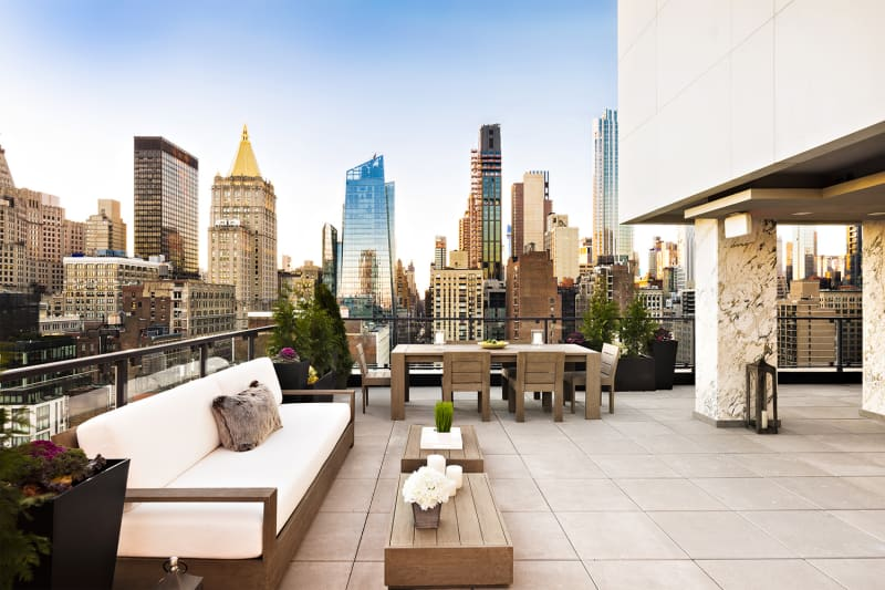 Roof top common Space