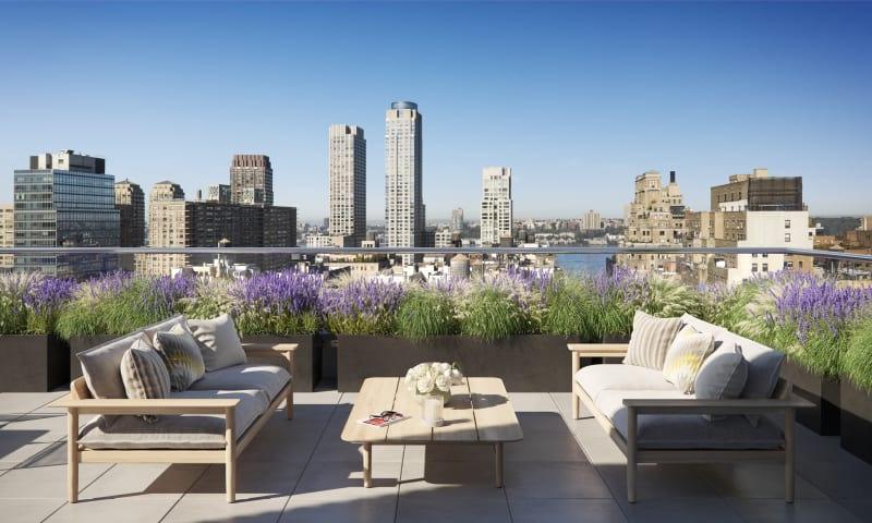 Amenity Roof Terrace with Barbeque