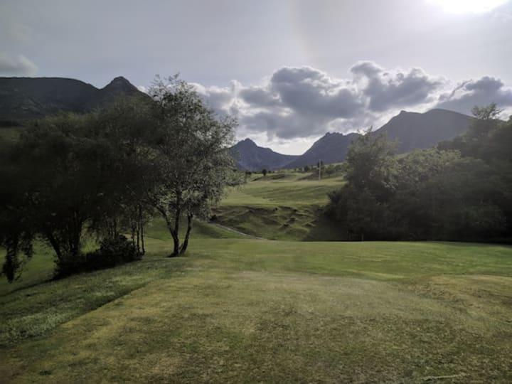 corrie golf course third hole
