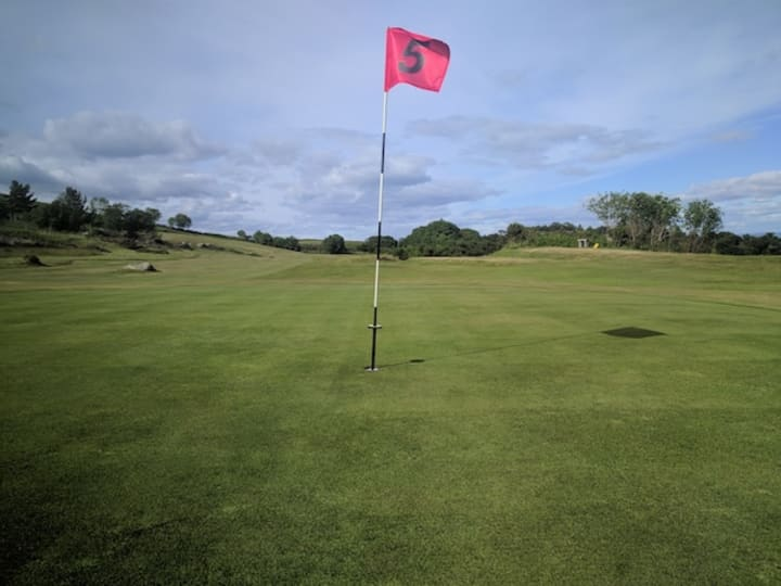 corrie golf course fifth hole