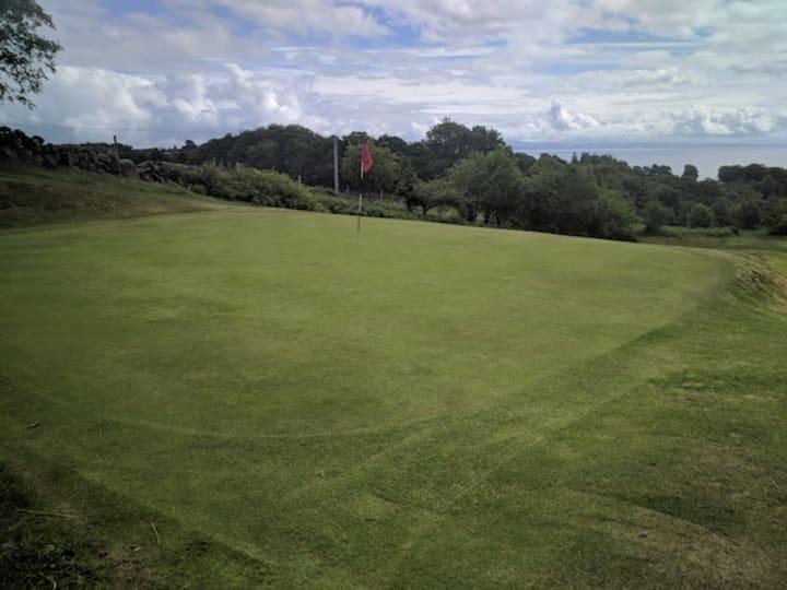 corrie golf course sixth hole