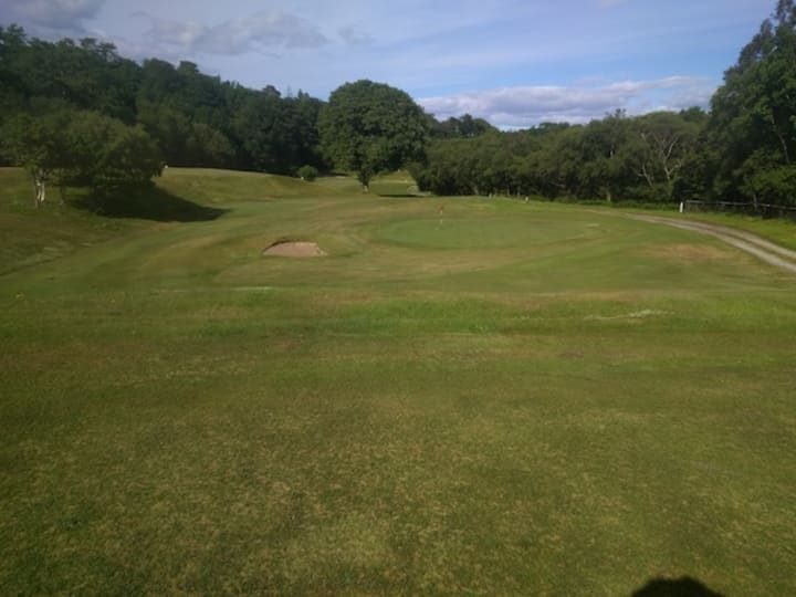 corrie golf course seventh hole