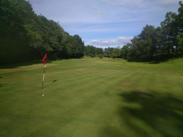 corrie golf course eigth hole