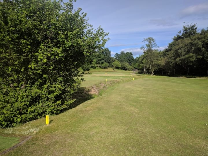corrie golf course ninth hole