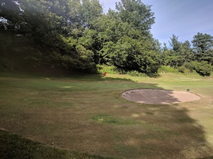 corrie golf clourse first hole