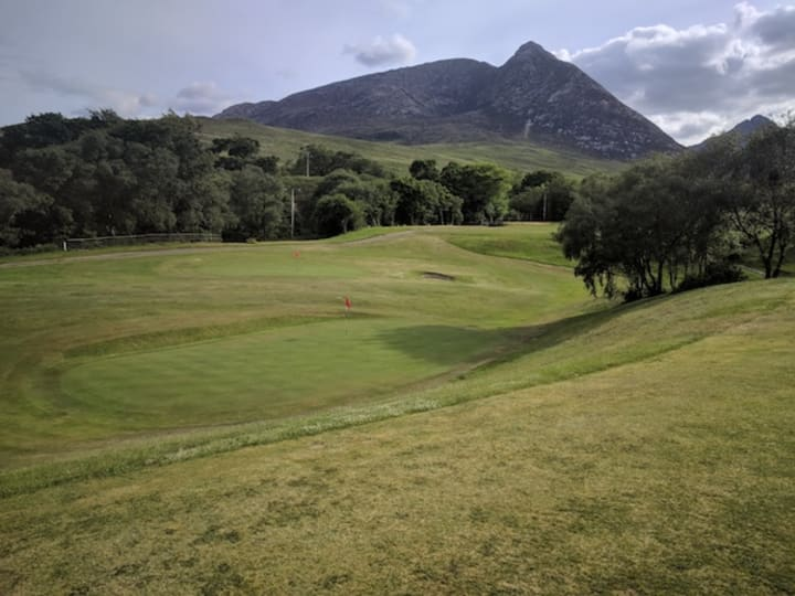corrie golf course second hole