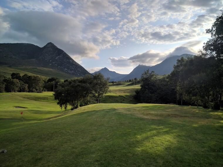 corrie golf course hole 3