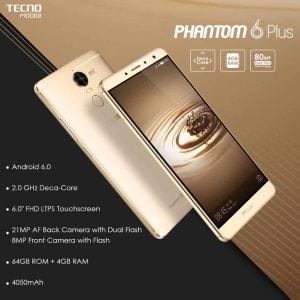 Tecno Phantom 6 plus price in Nigeria