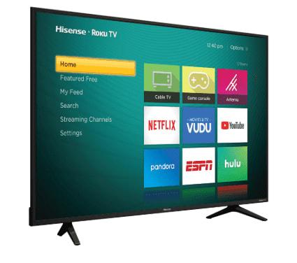 The Hisense LED TVs in Ghana