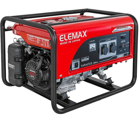Elemax 3.2/3.8 KVA (Manual starter)