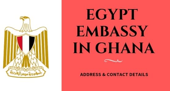 Egypt Embassy in Ghana: Address & Contact Details