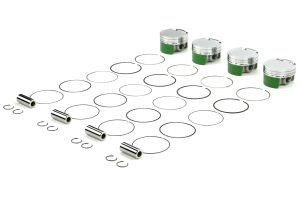 Cosworth Forged Pistons w/ Pins, Clips, and Rings 87mm 9.2:1 ( Part Number: 10001456)