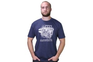 Cosworth Engine T-Shirt Navy ( Part Number: 3131027)