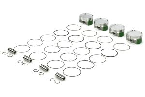 Cosworth Forged Pistons w/ Pins, Clips, and Rings 92mm 8.0:1 ( Part Number: 10001445)