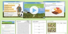 Food and Farming Lesson 1: Changes in Farming in the UK