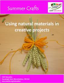 Summer crafts - home educator version