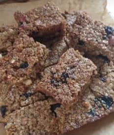 Fruit and Nut Flapjacks