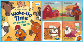 Wake-Up Time on Bumble Farm eBook