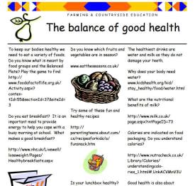 Balance of good health