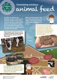 BBSRC Science on the Farm poster - ANIMAL FEED
