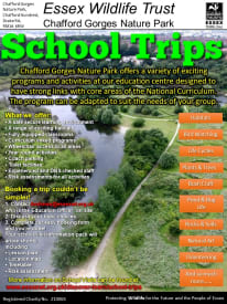 School Trips to Chafford Gorges Nature Park