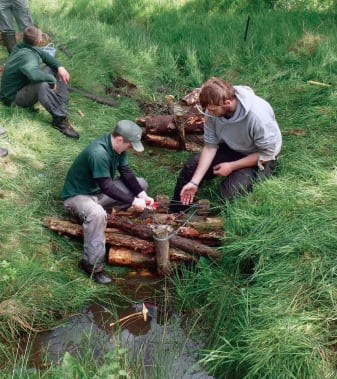The Prince's Countryside Fund supports land-based training