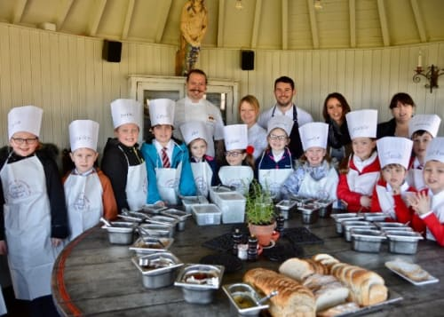 More chefs Adopt a School