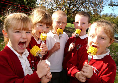 Please be positive - six ways to discover British food with kids