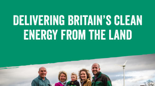 Delivering Britain's Clean Energy from the Land