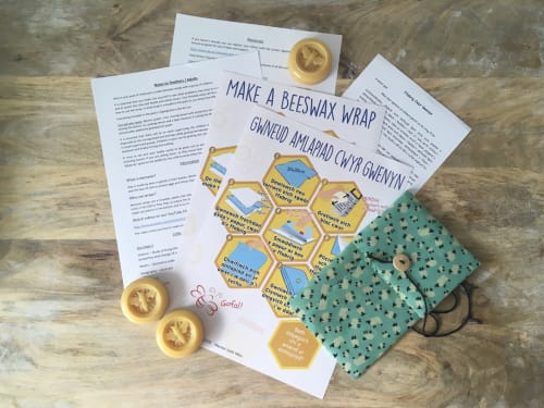 Making beeswax wraps