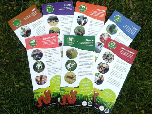 LEAF's Farm Trail Board and Activity Sheets
