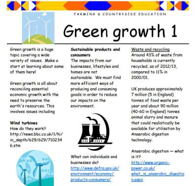 Green growth 1