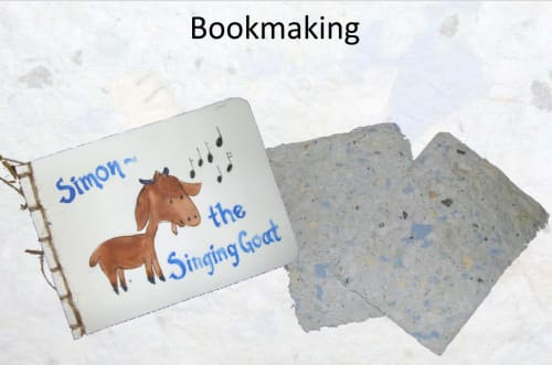 Creative Arts: Papermaking, Storyboarding and Bookmaking