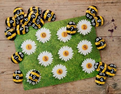 Honey Bee Number Kit