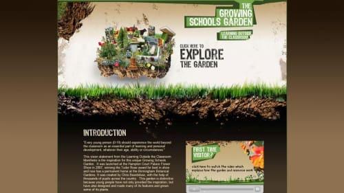 The Growing Schools Garden