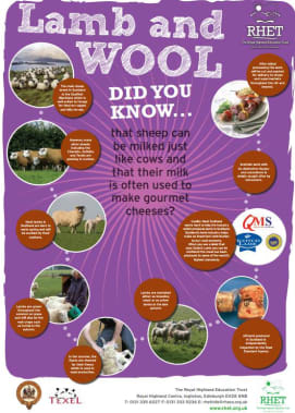 Food and farming in Scotland posters