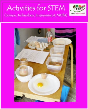 Activities for STEM(Science, Engineering, Technology and Maths) - home educator version