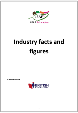 Poultry Industry Facts and Figures