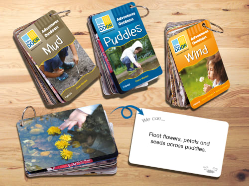 Adventures Outdoors : Mud, Wind & Puddles Card Sets
