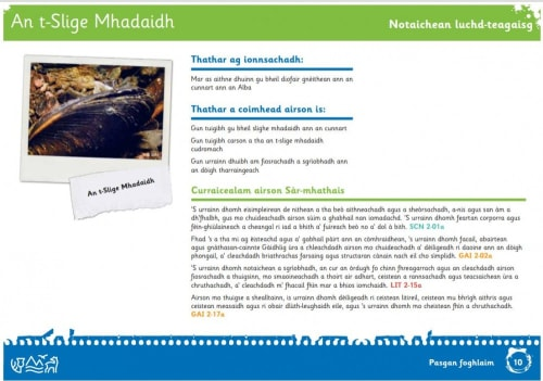 SNH Gaelic education pack