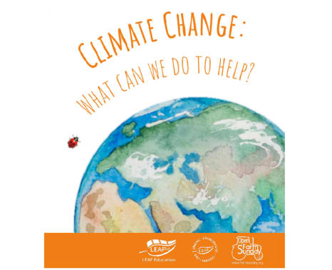 Climate change - what can we do to help?