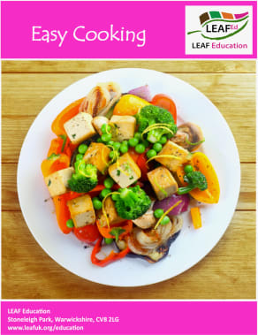 Easy cooking - home educator version