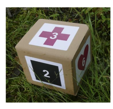 Let Nature Feed Your Senses: Poetry dice kit