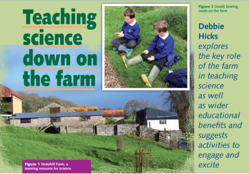 Teaching Science down on the farm