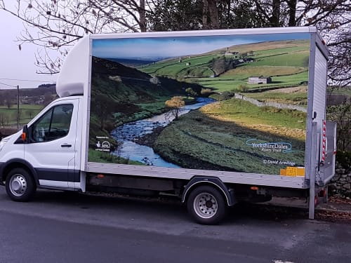 Rivers2U - The Yorkshire Dales Rivers Trust mobile classroom lab