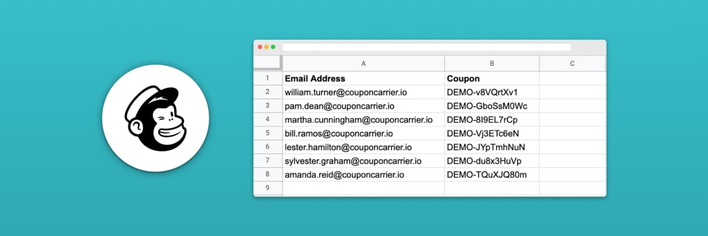 How To Add Unique Codes to Your Mailchimp Email