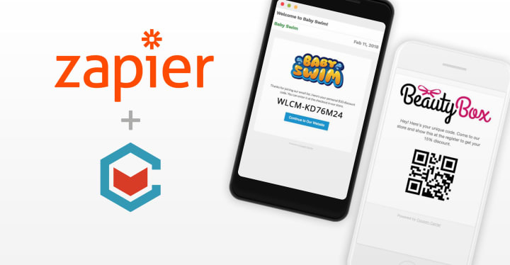 How to Use Coupon Carrier + Zapier to Distribute Unique Codes