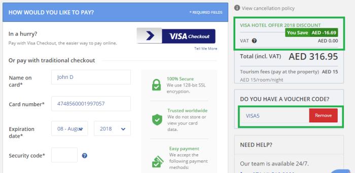 Tajawal Visa Offer