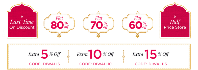 Myntra Coupon Codes for Diwali