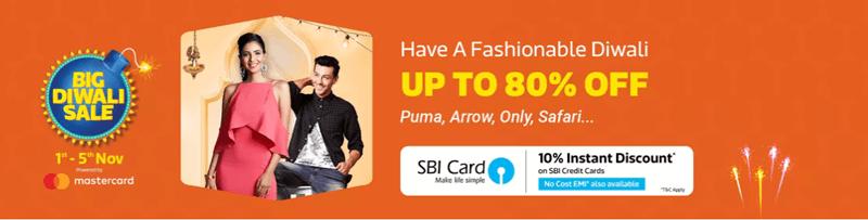 Flipkart 5 Days Diwali Sale